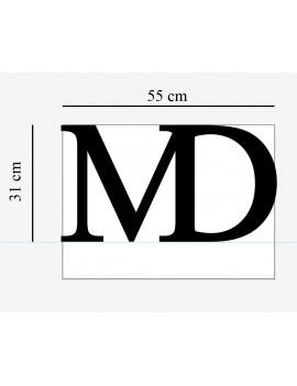 Logo MD PVC 19 creusé