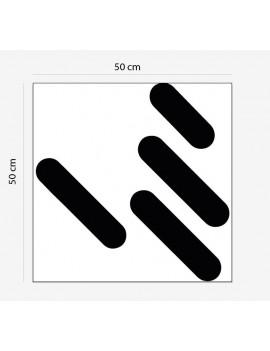 Logo PVC 19 mm creusé