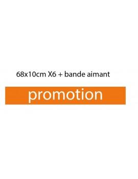 6 x Plaques (promotion)