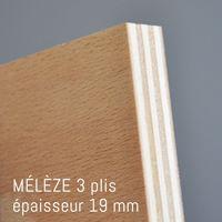 Matière Mélèze de 10 mm